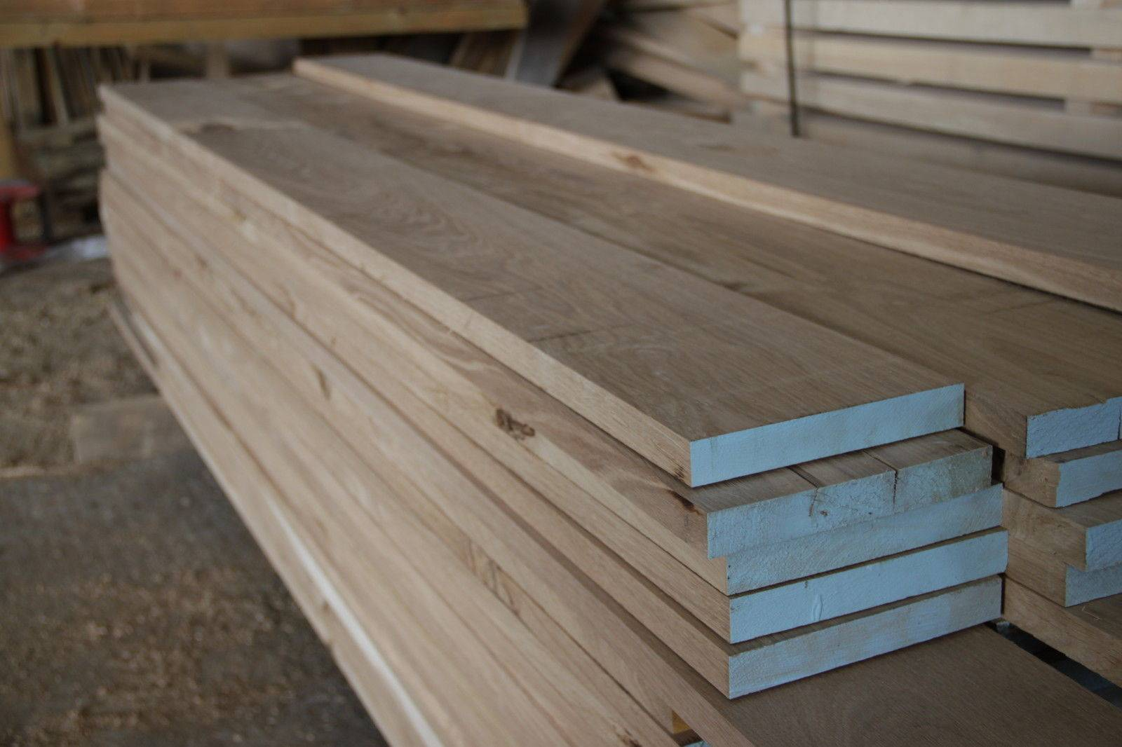 Oak Lumber, edged and unedged for sale