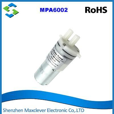 MPA6002 -Membrane water pump, Self-priming,  Brush DC Motor