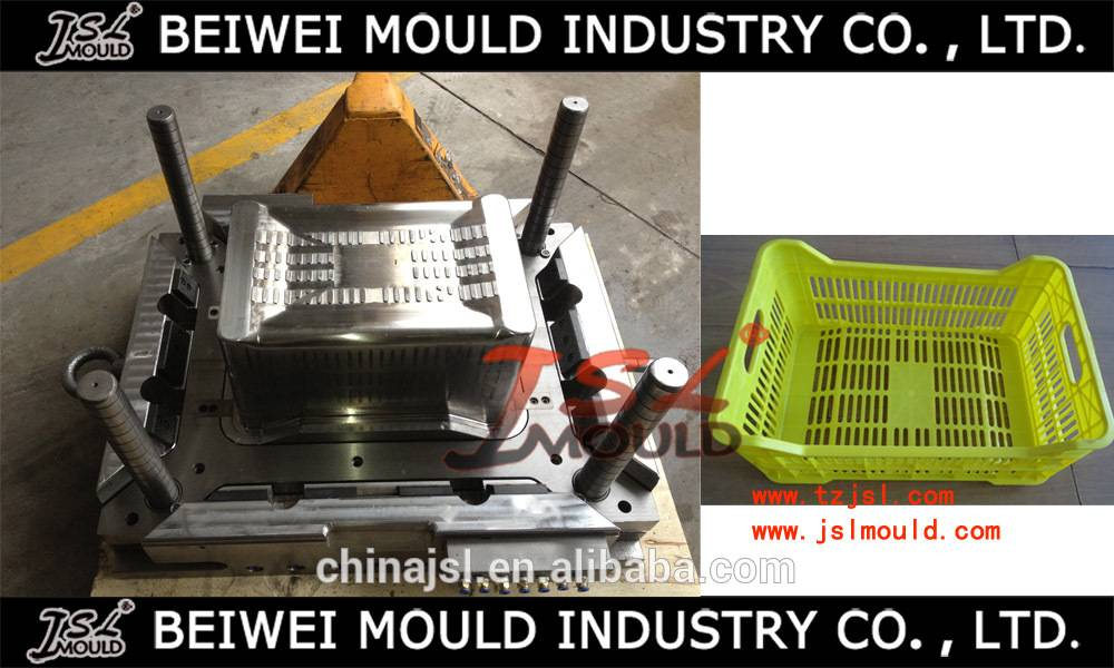 Plastic Injection Mould Hot Sale Beer&Milk&Fish Crate Mould