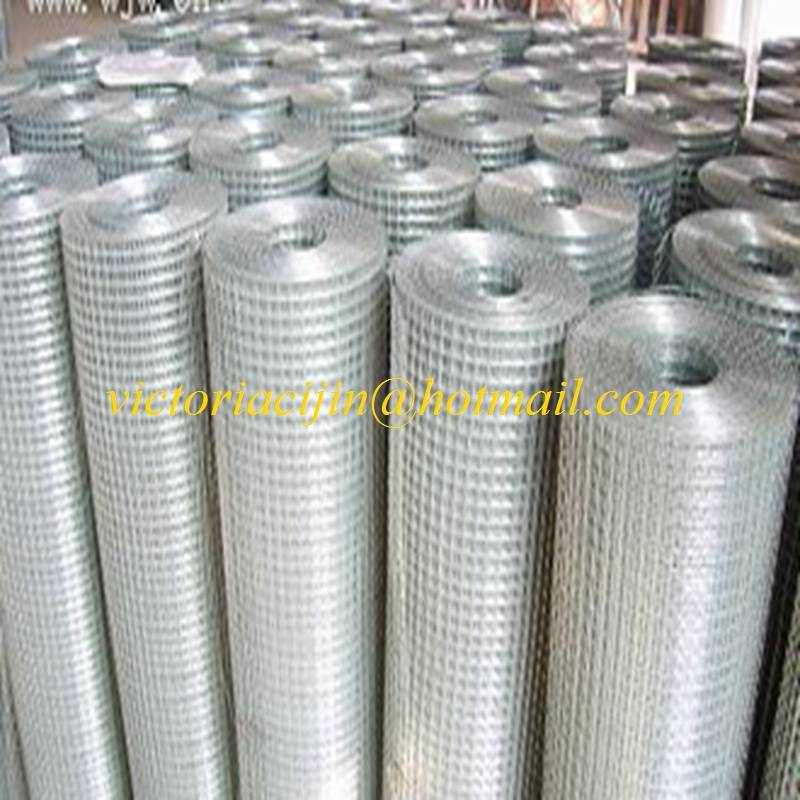 high quality hot-dipped galvanized welded mesh