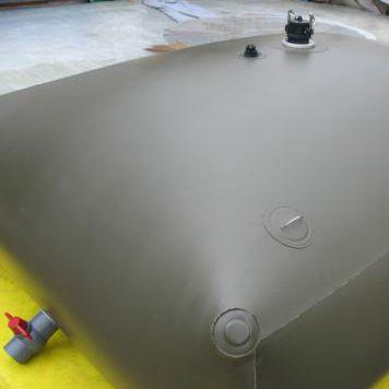 China giant PVC soft material home biogas tank