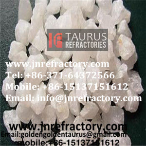 Quartz sand for copper smelting