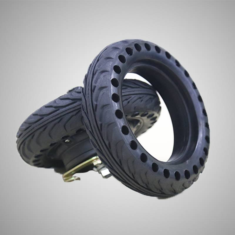 8 inch tubeless hollow tire for e-scooter