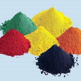 Iron oxide pigment, ferric oxide, ferrous oxide