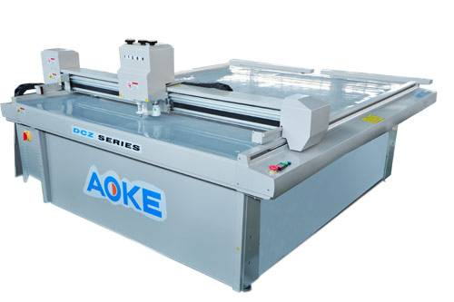 sample maker cutter plotter banner poster pop display machine operation method