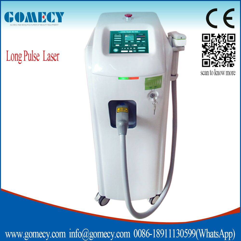 new products 2016 Laser Nd:yag Long Pulse / High Quality Laser Hair Removal Machine / High Quality N
