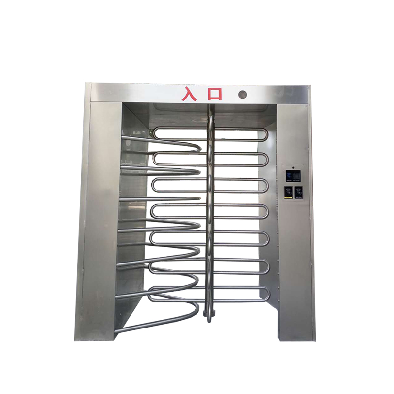 automatic double full height turnstile for jail with RFID card