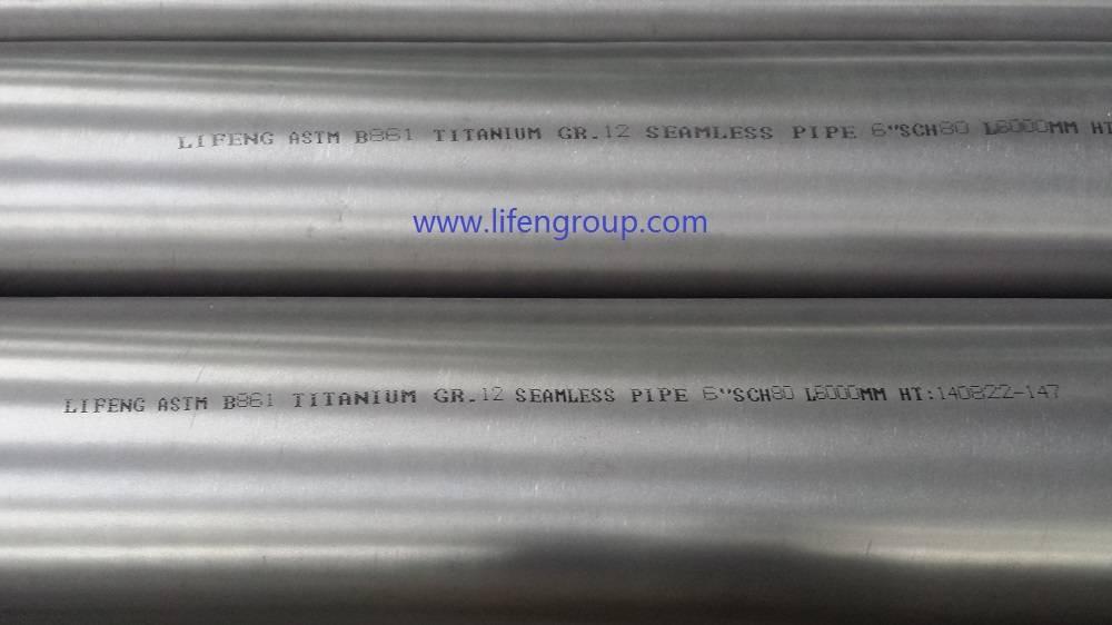 Titanium Gr.12 Pipe