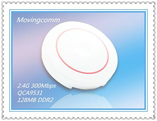 Industrial Grade High performance Wireless Ceiling Access Point with QCA9531