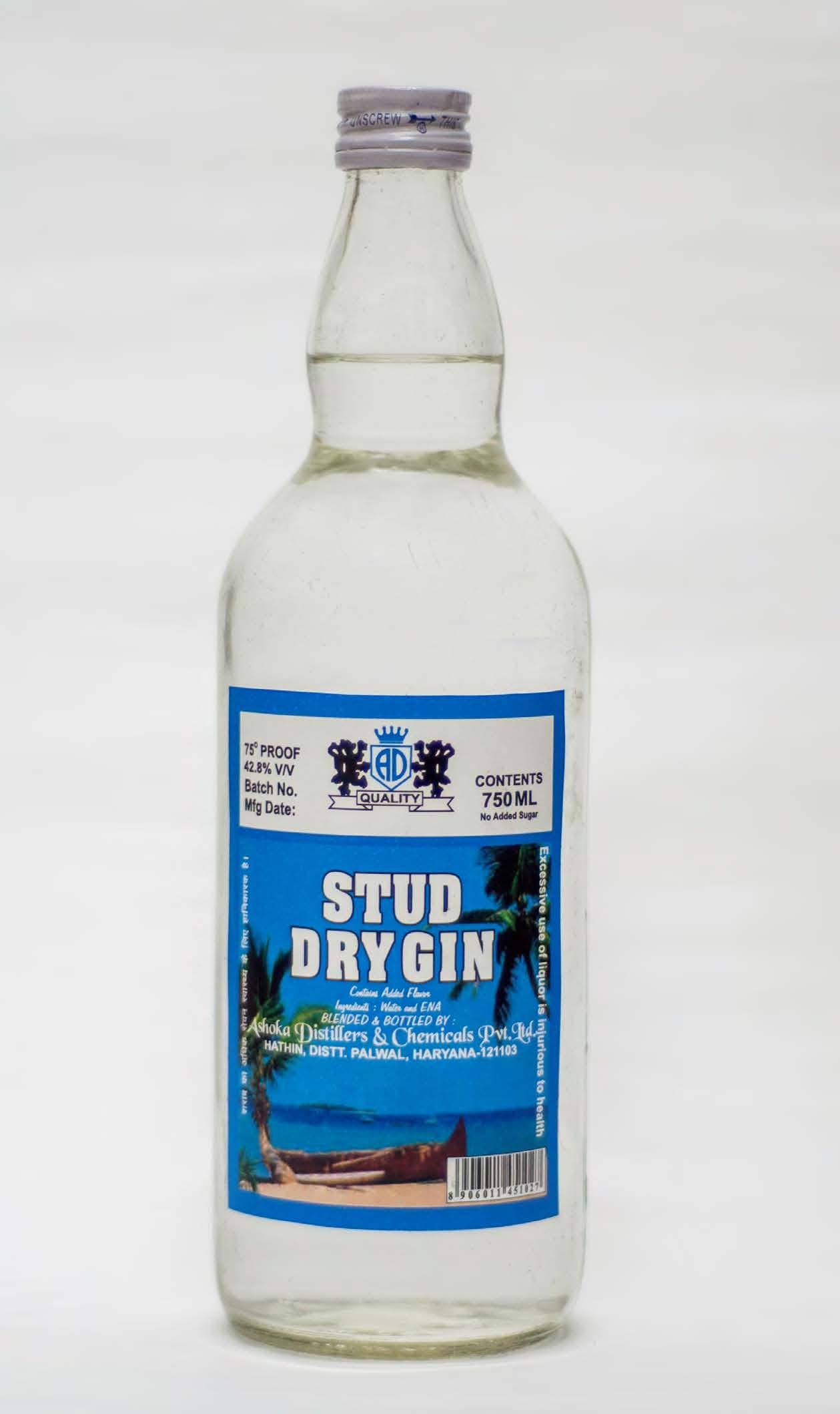 Stud Dry Gin.