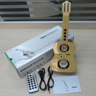 portable digital audio 3W Electronics Guitar mini Speaker power amplifer with FM and SD MMC slot
