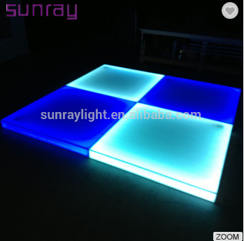China Make 80W Energy Saving Dmx 512 Control Stage Panel Light Led Dance Floor For Sale