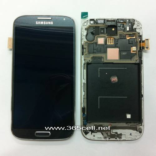 Samsung Galaxy S4 i9500 LCD assembly w/frame