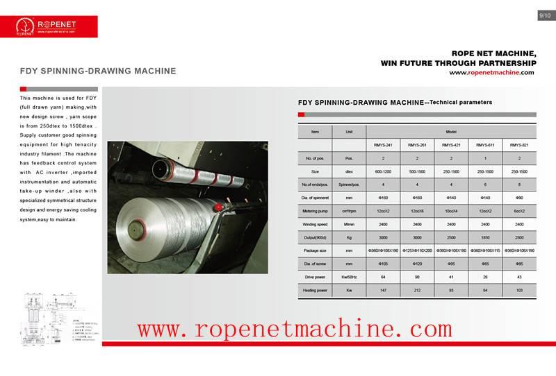 textile nylon spinning machine