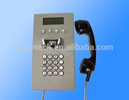 koontech emergency telephone with LCD display