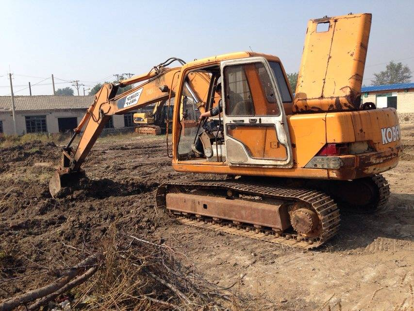 Secondhand Used Japan Original Kobelco SK120-3 Hydraulic Crawler Excavator