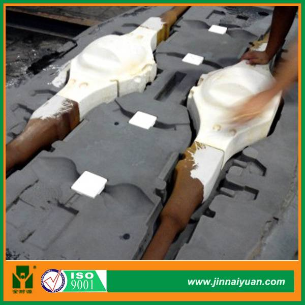 Steel Foundry Mould Coating