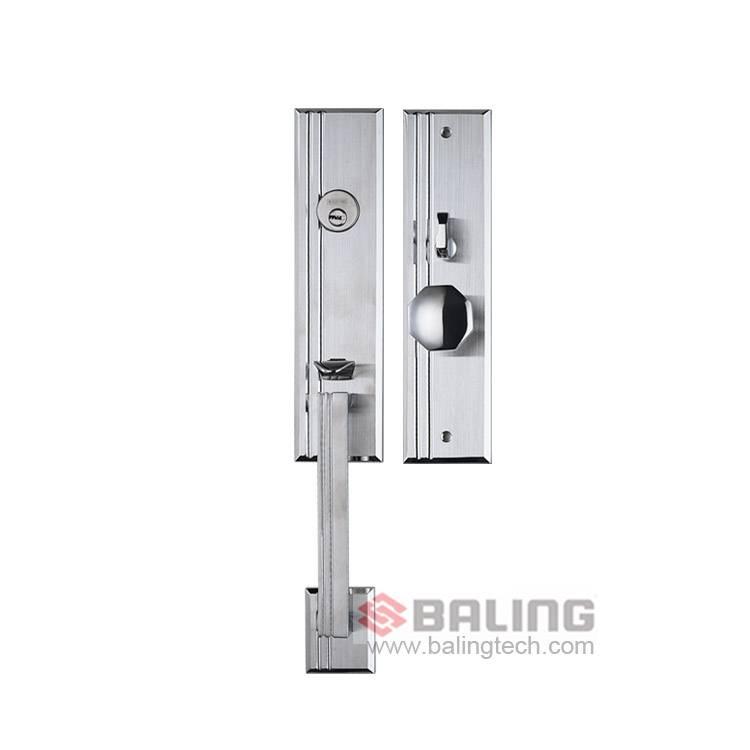 Anti-Plug Mortise Door Lock High-end Stainless Steel Key Lock High Safety Residential Door Lock