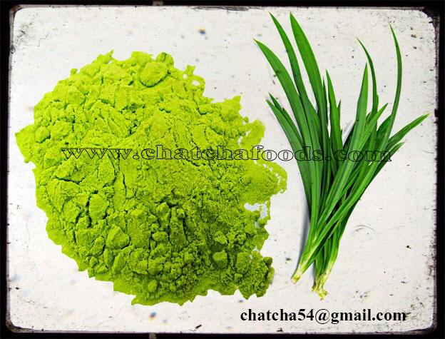 pandan dry powder