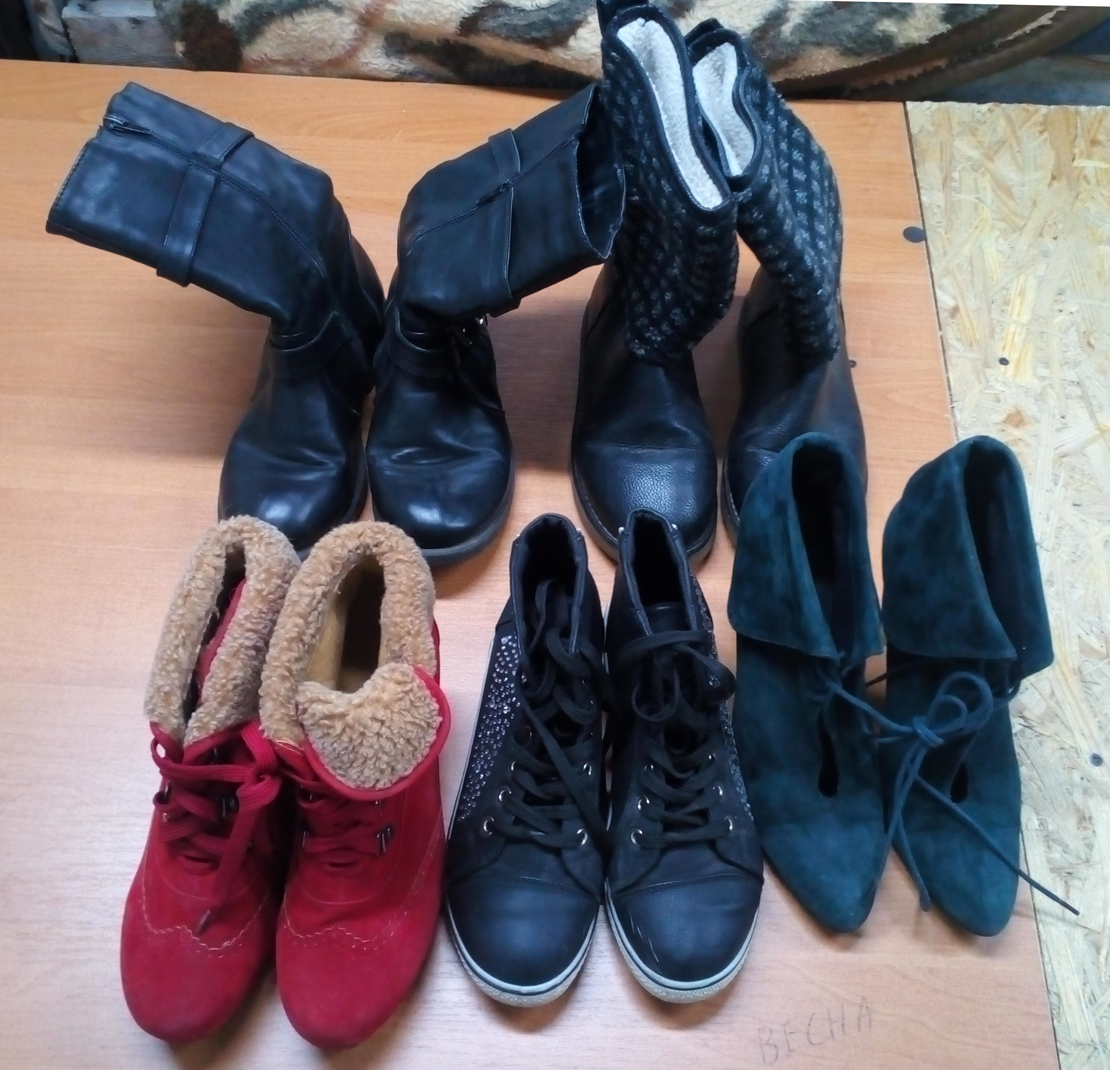 Good quality WINTER MIX used clothing and shoes in bales