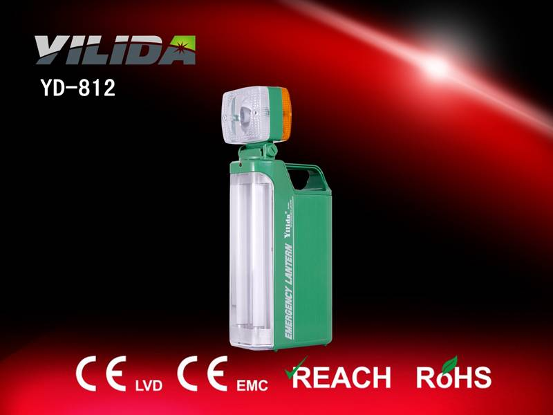 Rechargeable camping lantern suitable for camping, emergency hiking,