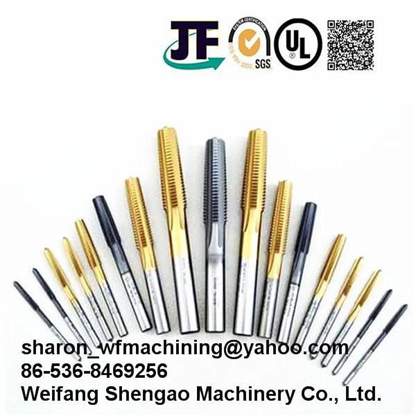 High Quality Machining Screw Taps for Machining Machinery