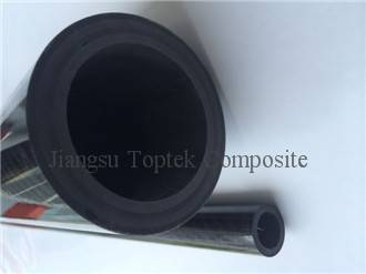 glossy surface 3K carbon tube, high thickness OEM carbon tube