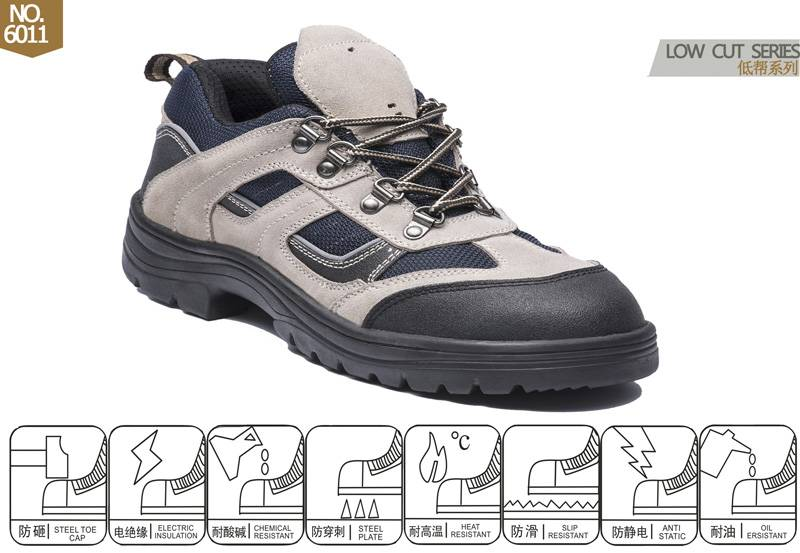 safety shoes with CE approved 6 dollars No.6011