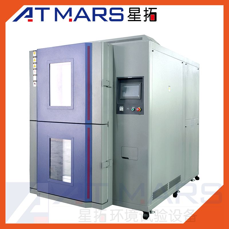 ATMARS Two Zones High and Low Temperature Cycling Thermal Shock Testing Chambers