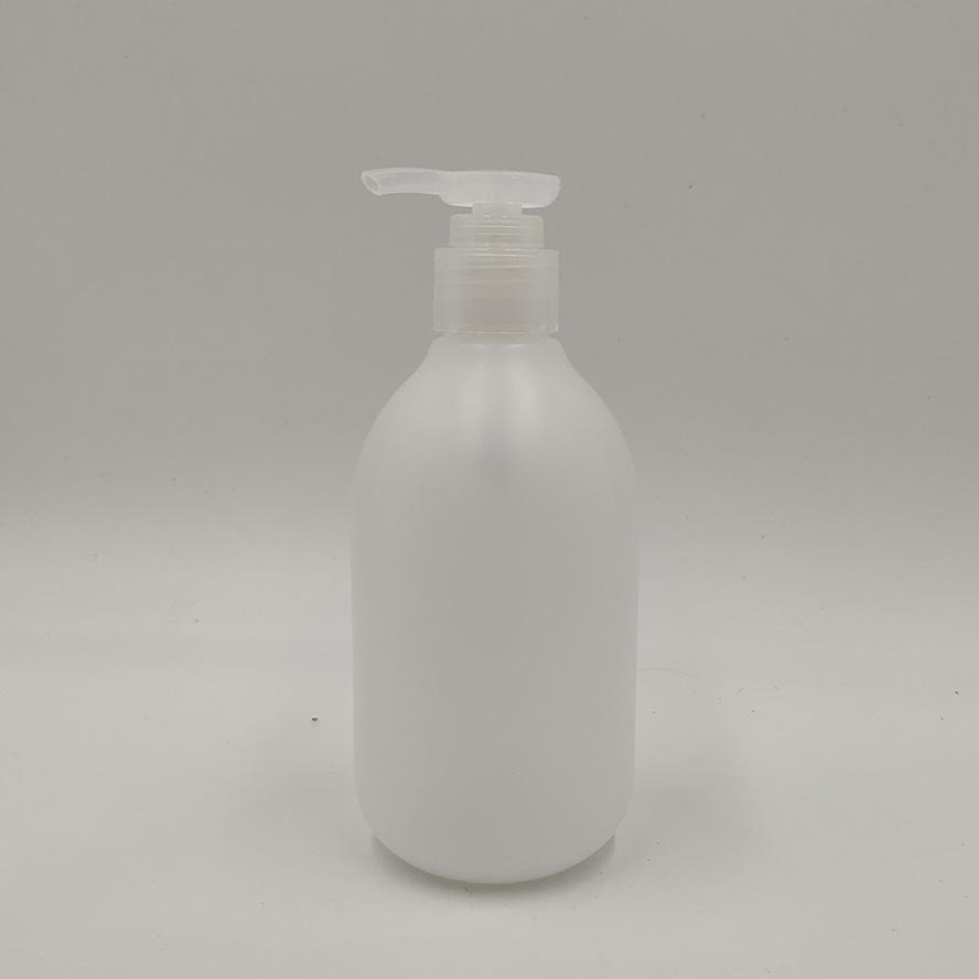 Wholesale White Color 250ml PE Plastic Lotion Pump Bottle For Shampoo