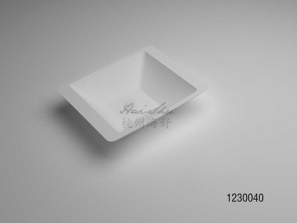 New Design Artificial Stone Sink Acrylic Bathroom Basin