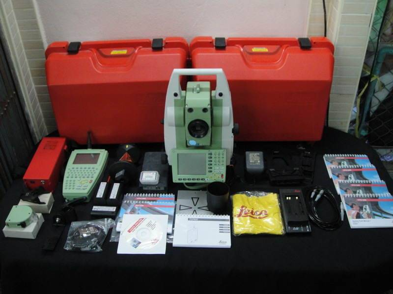 Leica Robotic TCRP1201 R300+ Transmitter Total Station