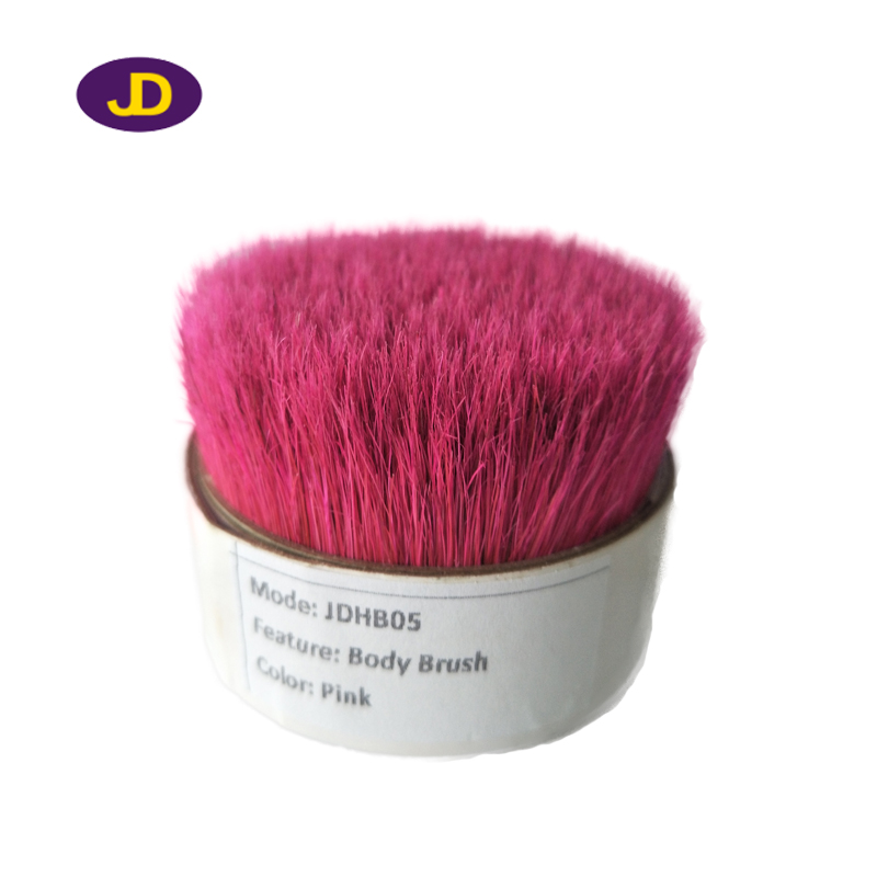 Pink Natural pig bristle for brush
