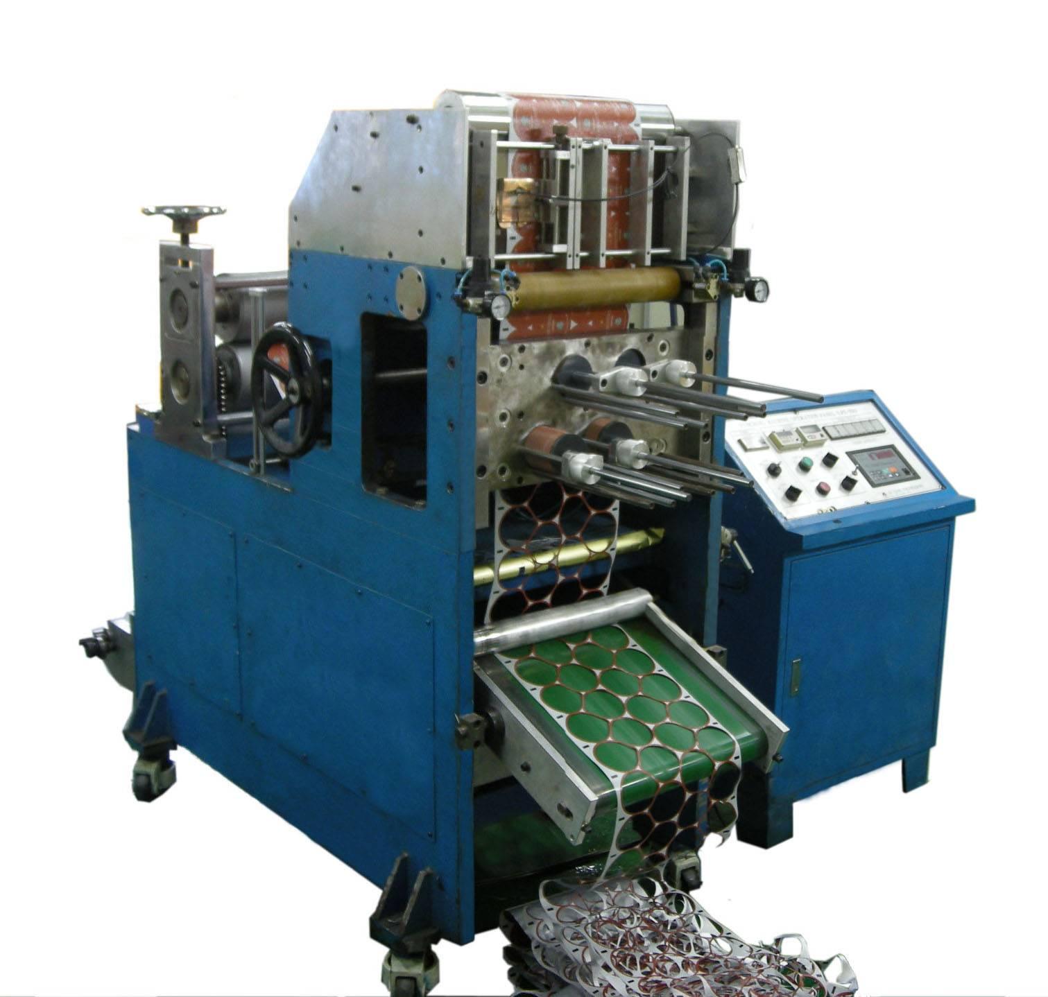 AL Lid & IML punching(Die cut) machine