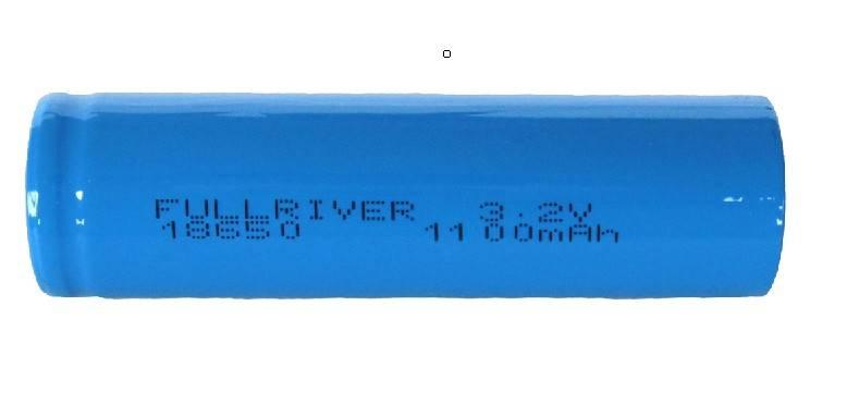 LiFePo4 Battery 18650Fe 3.2V 1100mAh