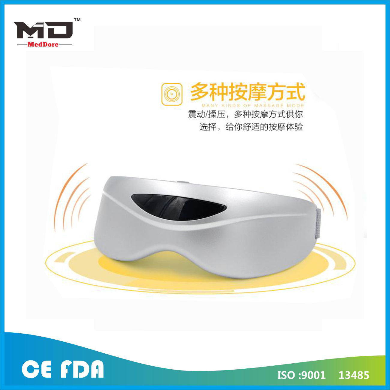 Meddore eye care massager eye relaxation eye massage glasses Electric Air pressure Eye massager