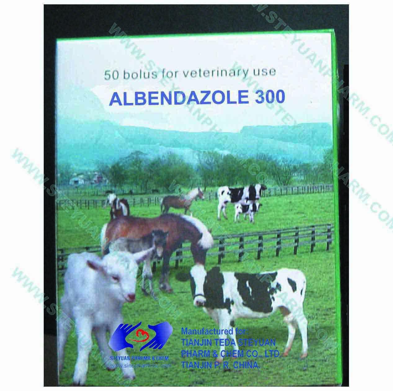 Albendazole tablet (veterinary use)
