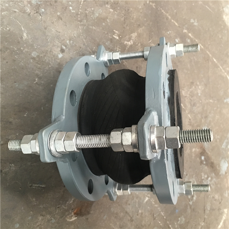 DN65 loose expansion joint flange flexible rubber coupling