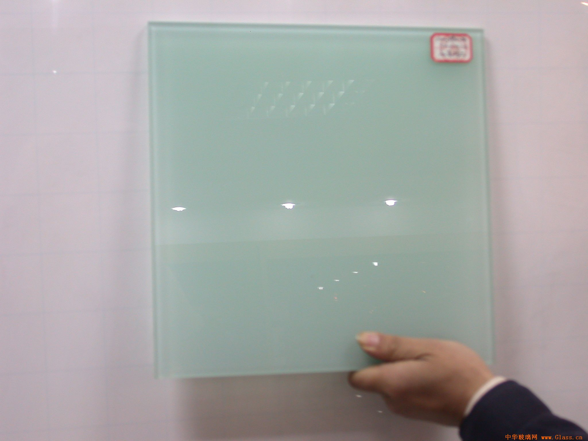 the CE SGCC certification of white milky lamianted glass