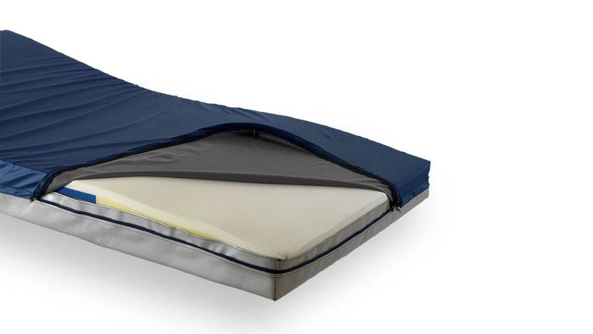 Waterproof PU Coated High Quality Anti Decubitus Medical Mattress Covers with Zipper (Anti Bedsore)