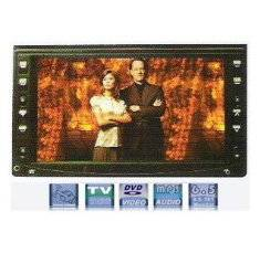 """6.2"""" Double Din LCD Monitor /DVD player /Touch Screen"""
