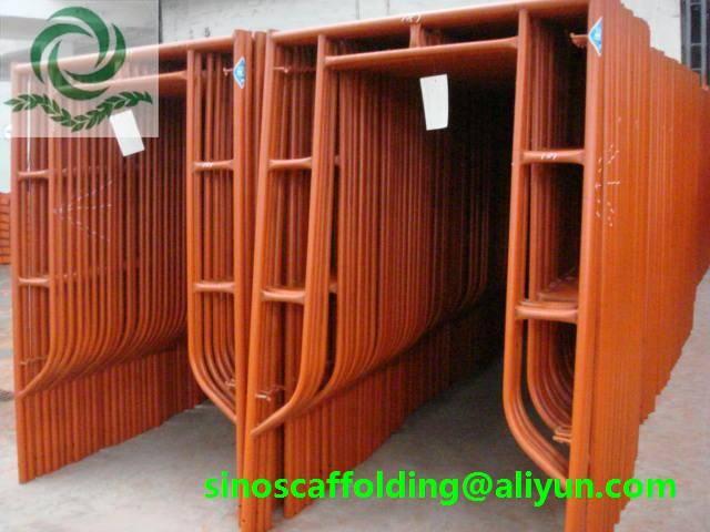 Manufacturer supply H Frame Scaffolding system