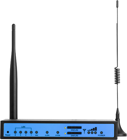4G/HSPA+ router with VPN server and SMS management