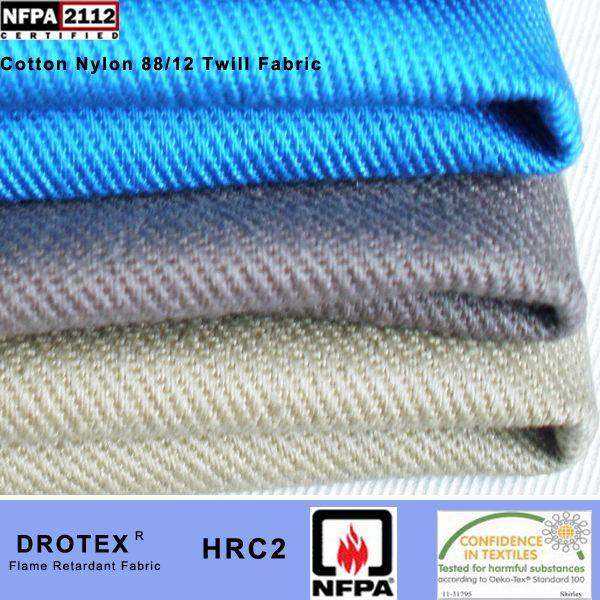 UL NFPA 2112 Certificate Fire Resistant Woven Fabric