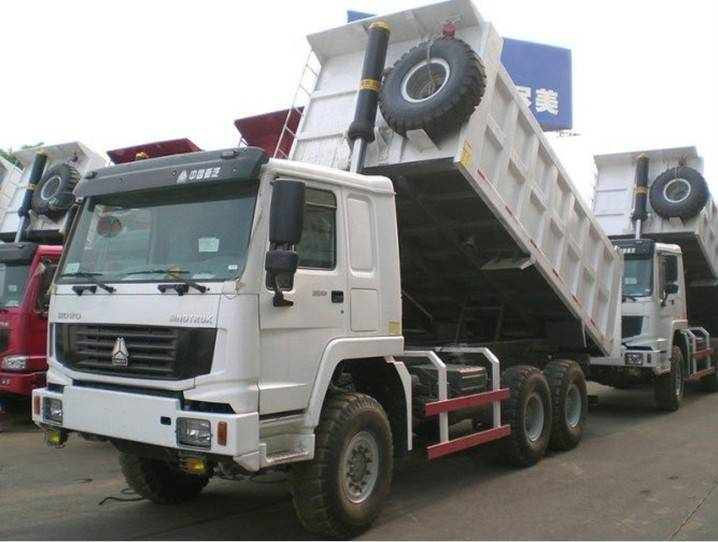 6*4 howo dump truck