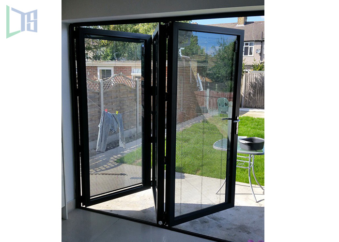 Australia standard thermal break double glazing heavy duty bi folding door;exterior door