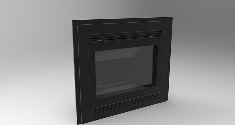 WG-50 gas stove fireplace