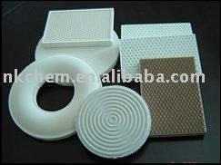 Honeycomb infrared ceramic plate