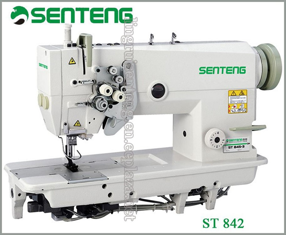 ST 842 Double -needle lockstitch Sewing machine for sweater