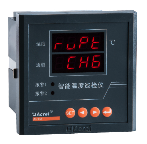 Acrel 8 PT100 measurement multi-input temperature controller for electric closet ARTM-8